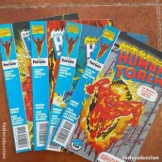 Cómics: SAGA DE LA ORIGINAL HUMAN TORCH. 4 NÚMEROS. COMPLETA. Lote 246175865