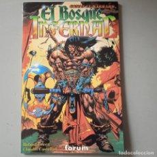 Comics : CONAN EL BARBARO EL BOSQUE INFERNAL. Lote 246197190