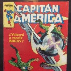 Cómics: CAPITÁN AMÉRICA VOL.1 N.44 RECUERDO TODOS MIS PECADOS ( 1985/1992 ). Lote 246261505