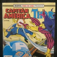Cómics: CAPITÁN AMÉRICA & THOR VOL.1 MARVEL TWO IN ONE N.52 NÓMADA CAPITÁN LOCO ( 1985/1992 ). Lote 246282055