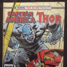 Cómics: CAPITÁN AMÉRICA & THOR VOL.1 MARVEL TWO IN ONE N.58 LOS HÉROES SIEMPRE VENCEN ( 1985/1992 ). Lote 246284245