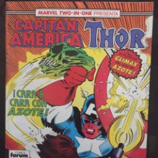 Cómics: CAPITÁN AMÉRICA & THOR VOL.1 MARVEL TWO IN ONE N.61 MASACRE ( 1985/1992 ). Lote 246284880