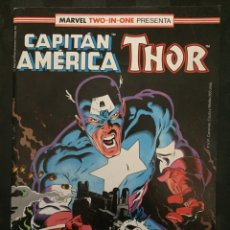 Cómics: CAPITÁN AMÉRICA & THOR VOL.1 MARVEL TWO IN ONE N.62 CARA A CARA CON AZOTE ( 1985/1992 ). Lote 246285120