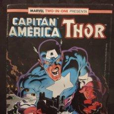 Cómics: CAPITÁN AMÉRICA & THOR VOL.1 MARVEL TWO IN ONE N.62 CARA A CARA CON AZOTE ( 1985/1992 ). Lote 246285520