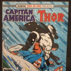 Cómics: CAPITÁN AMÉRICA & THOR VOL.1 MARVEL TWO IN ONE N.63 ABISMO ( 1985/1992 ). Lote 246285950