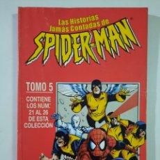 Cómics: LAS HISTORIAS JAMÁS CONTADAS DE SPIDERMAN TOMO 5 RETAPADO - FORUM MARVEL. Lote 246310920