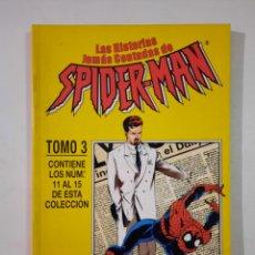 Cómics: LAS HISTORIAS JAMÁS CONTADAS DE SPIDERMAN TOMO 3 RETAPADO - FORUM MARVEL. Lote 246310985