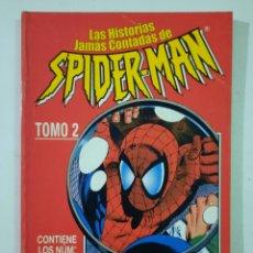 Cómics: LAS HISTORIAS JAMÁS CONTADAS DE SPIDERMAN TOMO 2 RETAPADO - FORUM MARVEL. Lote 246311055
