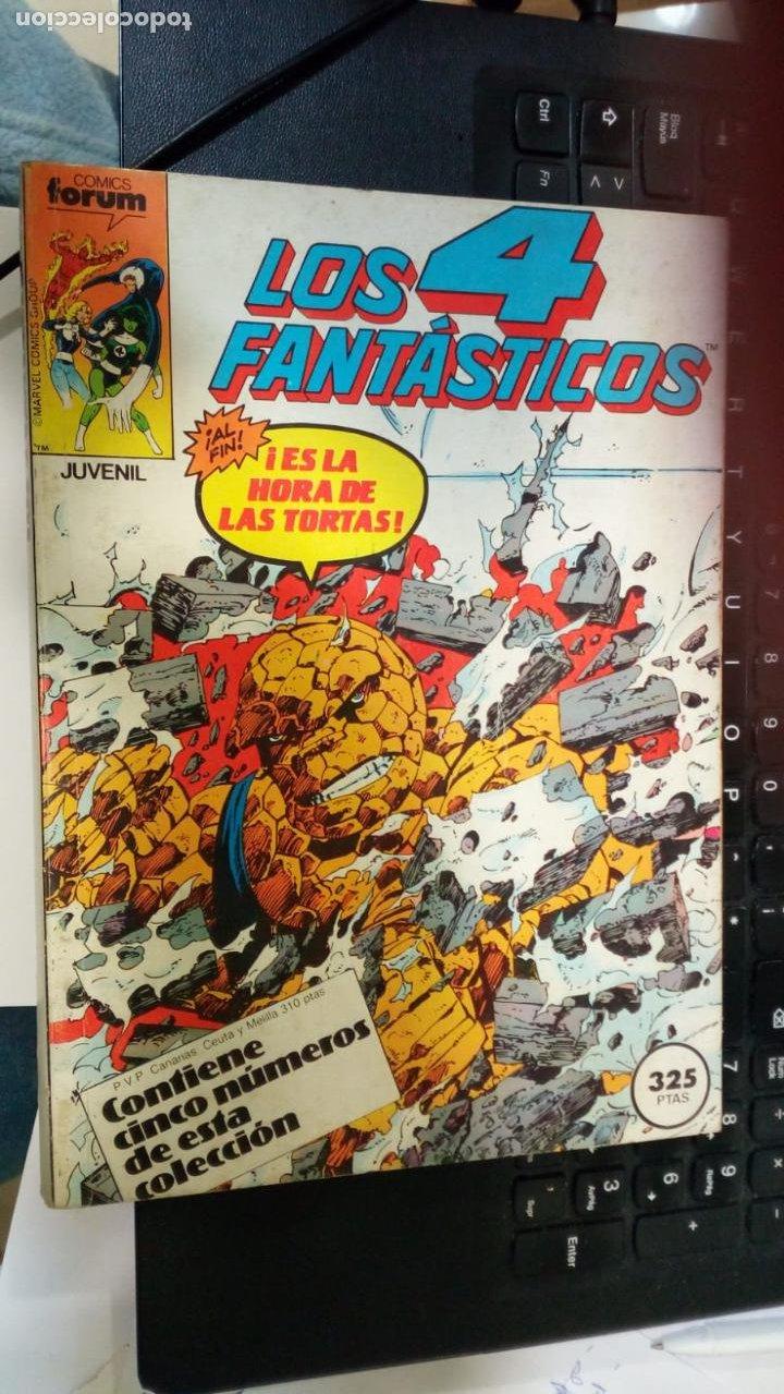 RETAPADO FORUM LOS 4 FANTASTICOS 46 AL 50 (Tebeos y Comics - Forum - 4 Fantásticos)