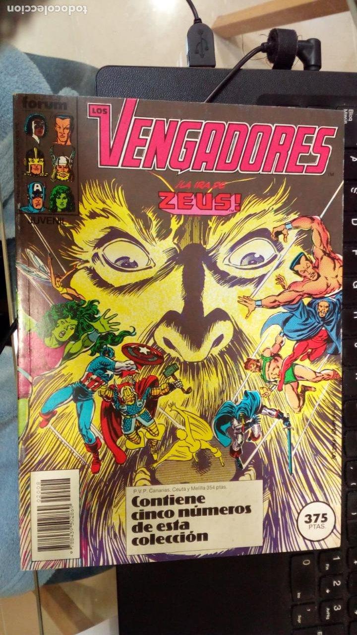 RETAPADO FORUM LOS VENGADORES 76 A 80 NUEVO SIN LEER (Tebeos y Comics - Forum - Vengadores)