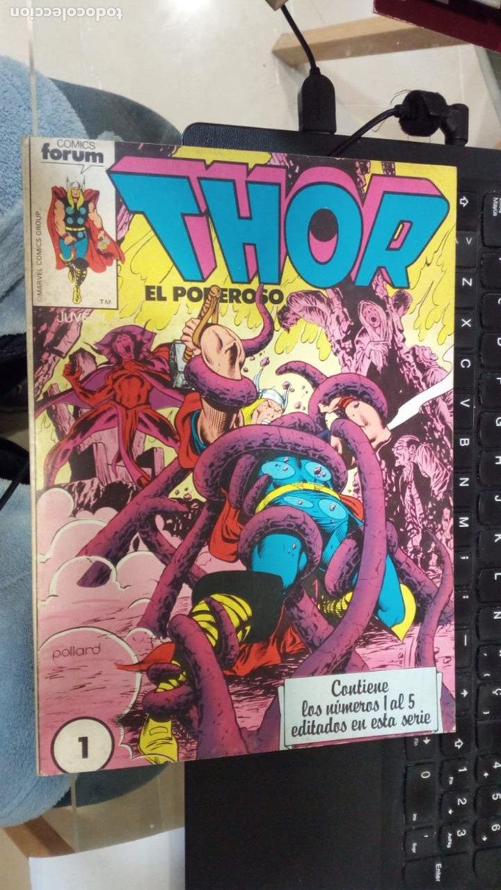 RETAPADO FORUM THOR 1 A 5 NUEVO SIN LEER (Tebeos y Comics - Forum - Thor)