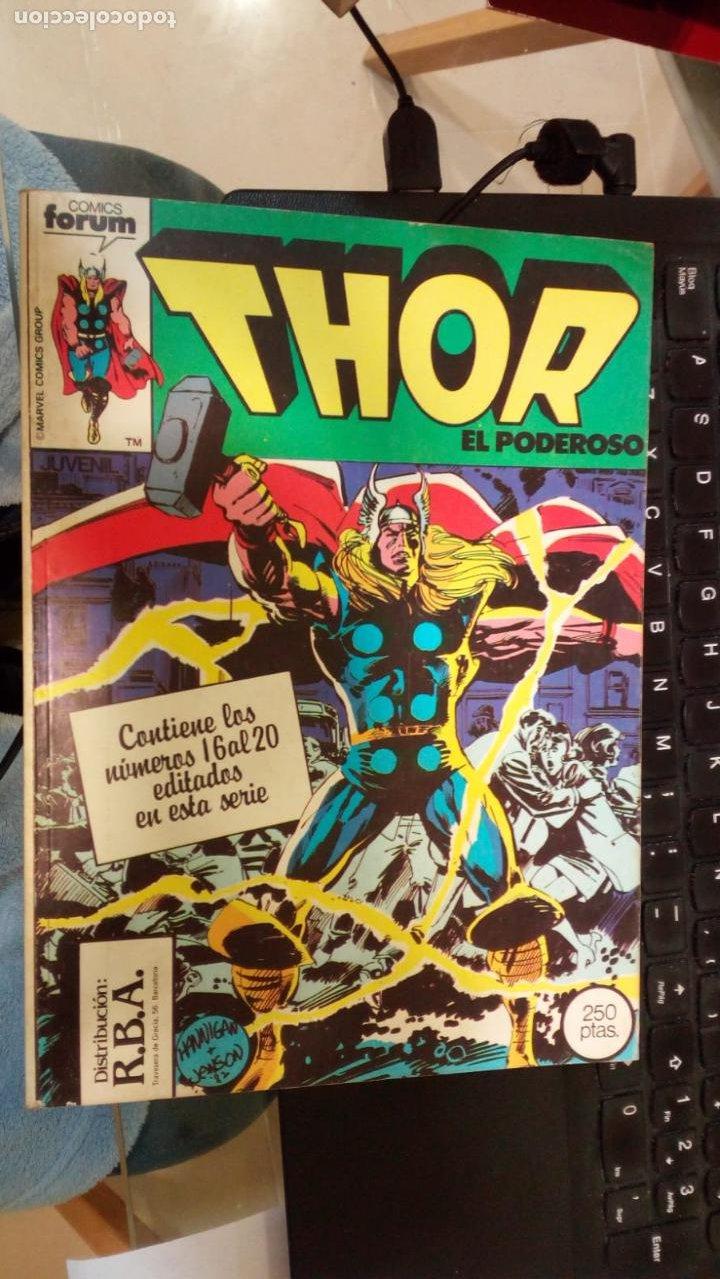 RETAPADO FORUM THOR 16 A 20 NUEVO SIN LEER (Tebeos y Comics - Forum - Thor)