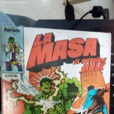 Cómics: RETAPADO FORUM LA MASA 31 A 35 NUEVO SIN LEER. Lote 246358045