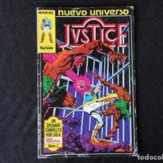 Cómics: JUSTICE. NUEVO UNIVERSO. Nº. 2 C-74.. Lote 246358290