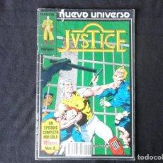 Cómics: JUSTICE. NUEVO UNIVERSO. Nº. 8 C-74.. Lote 246361440