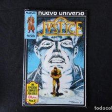 Cómics: JUSTICE. NUEVO UNIVERSO. Nº. 9. C-74.. Lote 246361670