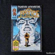 Cómics: JUSTICE. NUEVO UNIVERSO. Nº. 9. C-74.. Lote 246361820