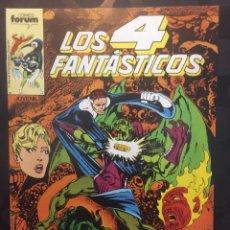 Comics : LOS 4 FANTÁSTICOS VOL.1 N.63 RIESGO ( 1983/1994 ).. Lote 246436285