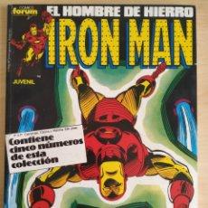 Cómics: FORUM RETAPADO IRON MAN 31-32-33-34-35. Lote 246448130