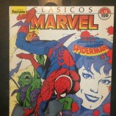 Cómics: CLÁSICOS MARVEL N.13 SPIDERMAN ( 1988/1991 ). Lote 246461515