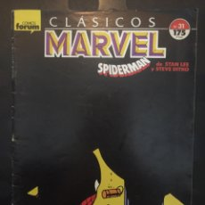 Cómics: CLÁSICOS MARVEL N.31 SPIDERMAN DE STEVE DITKO ( 1988/1991 ). Lote 246464475