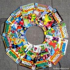 Fumetti: COLECCIÓN COMPLETA 14 NÚMEROS LA VISION Y LA BRUJA ESCARLATA. FORUM. Lote 246578750