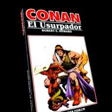 Cómics: MUY BUEN ESTADO CONAN 8 NOVELAS COMICS FORUM MARVEL. Lote 246620825