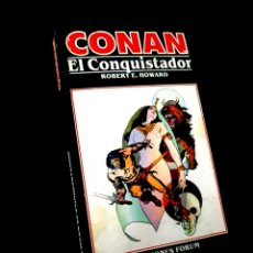 Cómics: MUY BUEN ESTADO CONAN 9 NOVELAS COMICS FORUM MARVEL. Lote 246621565