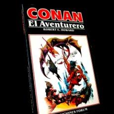Cómics: MUY BUEN ESTADO CONAN 5 NOVELAS COMICS FORUM MARVEL. Lote 246621940