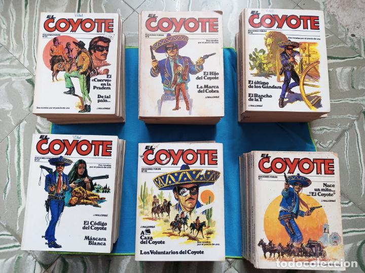 COYOTE - EDICIONES FÓRUM - LOTE DE 59 (Tebeos y Comics - Forum - Otros Forum)