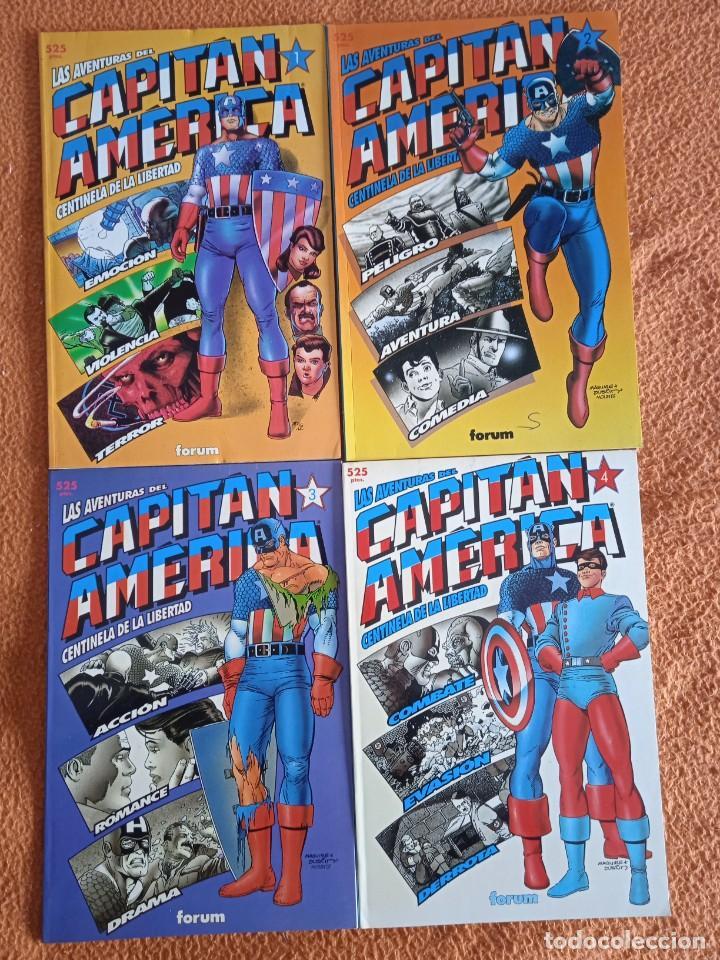 LAS AVENTURAS DEL CAPITAN AMERICA COMPLETA EN 4 PRESTIGIOS (Tebeos y Comics - Forum - Prestiges y Tomos)