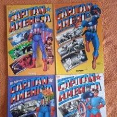 Comics : LAS AVENTURAS DEL CAPITAN AMERICA COMPLETA EN 4 PRESTIGIOS. Lote 247153040