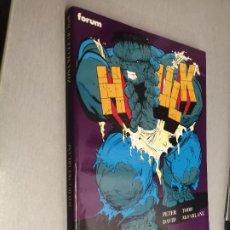 Comics : HULK: ZONA NUCLEAR / PETER DAVID - TODD MCFARLANE / OBRAS MAESTRAS Nº 7 - FORUM. Lote 247289255