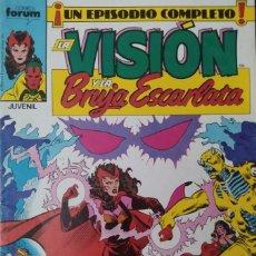 Cómics: LA VISION Y LA BRUJA ESCARLATA - COMICS FORUM Nº 6. Lote 247398400