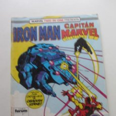 Cómics: IRON MAN CAPITAN MARVEL VOL 1 Nº 44 - TWO IN ONE FORUM MUCHOS EN VENTA MIRA FALTAS ARX78. Lote 247643170
