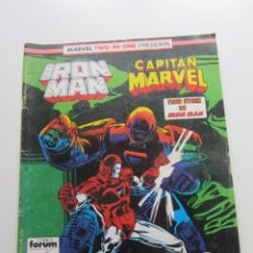Cómics: IRON MAN CAPITAN MARVEL VOL 1 Nº 45 - TWO IN ONE FORUM MUCHOS EN VENTA MIRA FALTAS ARX78. Lote 247643345