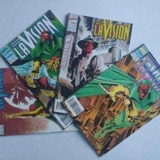 Cómics: MARVEL CÓMICS - LA VISIÓN - COLECCIÓN COMPLETA (4) - COMICS FORUM. Lote 248249790