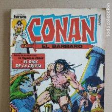 Cómics: CONAN EL BARBARO - Nº14 - REVISTA JUVENIL - COMICS FORUM. Lote 248447830