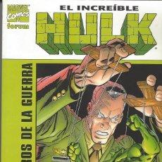 Cómics: HULK - LOS PERROS DE LA GUERRA - TOMO - PERFECTO ESTADO. Lote 248462980