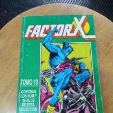 Cómics: FACTOR X TOMO RETAPADO CON LOS SIGUIENTES N ° 46 AL 50 (FORUM). Lote 248499895