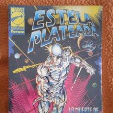 Cómics: ESTELA PLATEADA LA MUERTE DE GALACTUS 1- NUEVO PRECINTADO. Lote 248505965