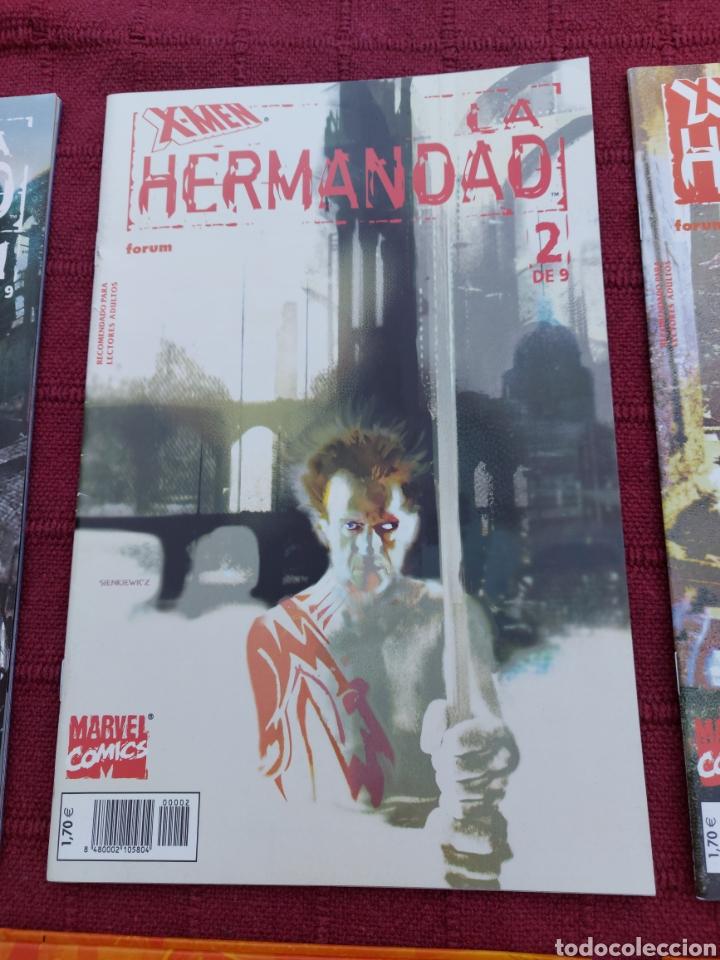 Cómics: X-MEN LA HERMANDAD - X-MEN LA ERA DE APOCALIPSIS/MUTANTES/LOBEZNO/MAGNETO/CICLOPE/BESTIA/COMIC FORUM - Foto 4 - 248607175