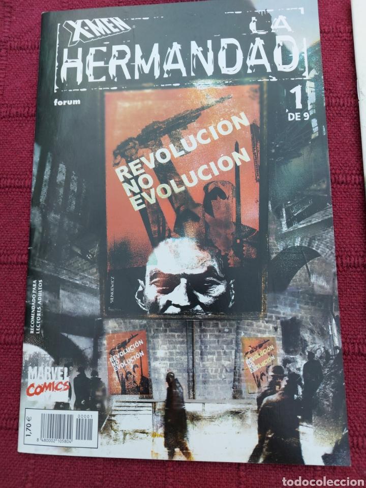 Cómics: X-MEN LA HERMANDAD - X-MEN LA ERA DE APOCALIPSIS/MUTANTES/LOBEZNO/MAGNETO/CICLOPE/BESTIA/COMIC FORUM - Foto 5 - 248607175