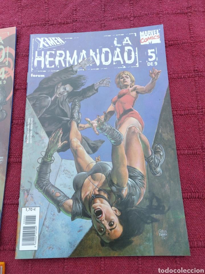 Cómics: X-MEN LA HERMANDAD - X-MEN LA ERA DE APOCALIPSIS/MUTANTES/LOBEZNO/MAGNETO/CICLOPE/BESTIA/COMIC FORUM - Foto 6 - 248607175