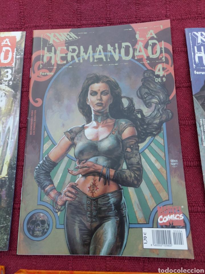 Cómics: X-MEN LA HERMANDAD - X-MEN LA ERA DE APOCALIPSIS/MUTANTES/LOBEZNO/MAGNETO/CICLOPE/BESTIA/COMIC FORUM - Foto 7 - 248607175