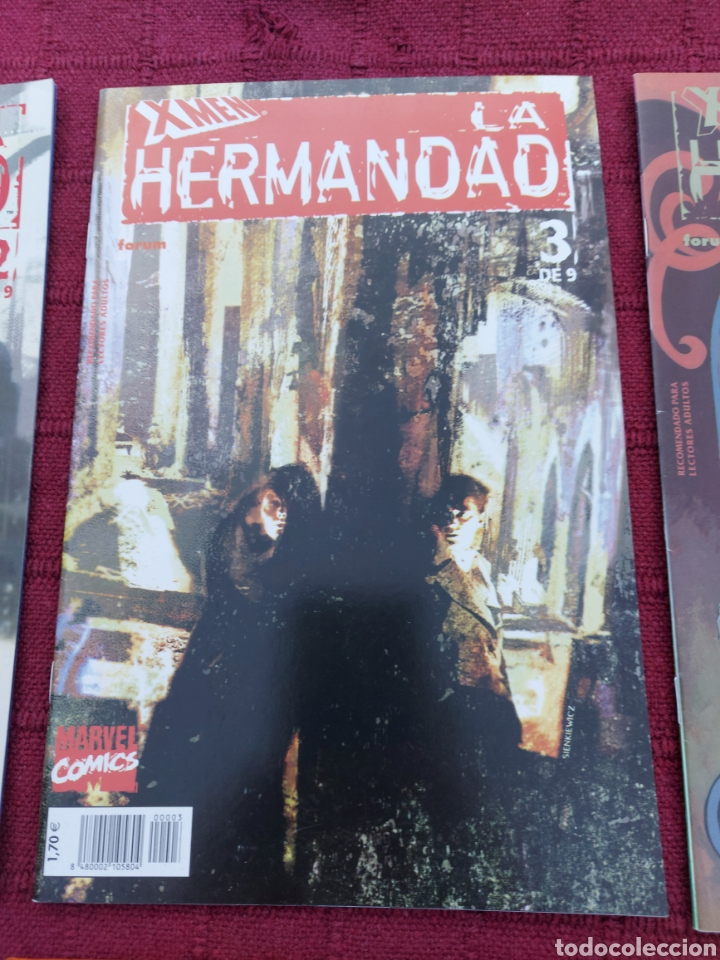Cómics: X-MEN LA HERMANDAD - X-MEN LA ERA DE APOCALIPSIS/MUTANTES/LOBEZNO/MAGNETO/CICLOPE/BESTIA/COMIC FORUM - Foto 8 - 248607175