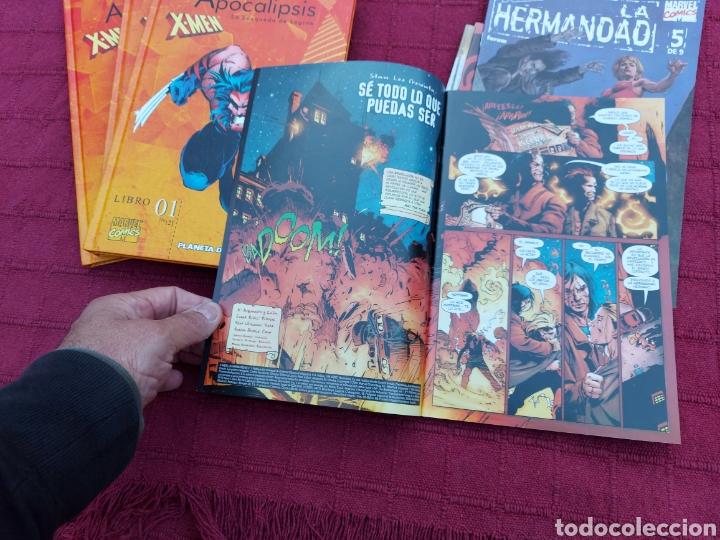 Cómics: X-MEN LA HERMANDAD - X-MEN LA ERA DE APOCALIPSIS/MUTANTES/LOBEZNO/MAGNETO/CICLOPE/BESTIA/COMIC FORUM - Foto 32 - 248607175