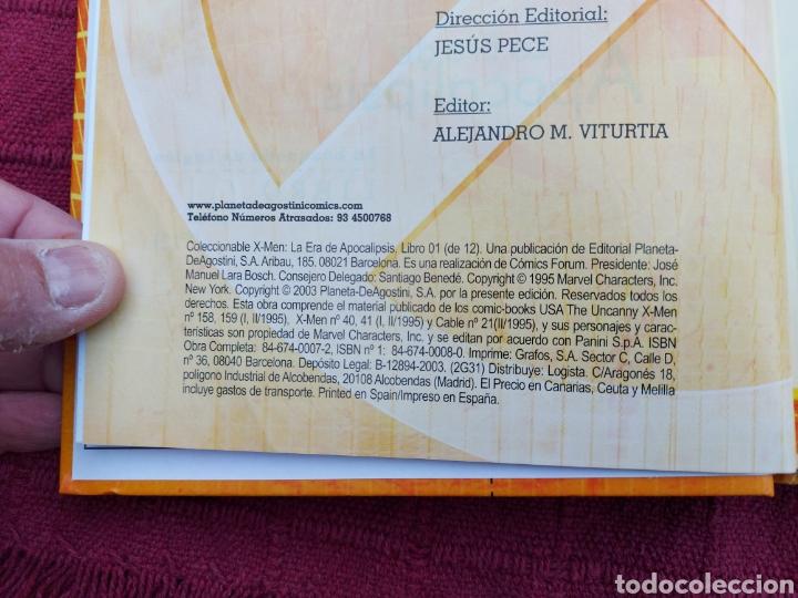 Cómics: X-MEN LA HERMANDAD - X-MEN LA ERA DE APOCALIPSIS/MUTANTES/LOBEZNO/MAGNETO/CICLOPE/BESTIA/COMIC FORUM - Foto 36 - 248607175