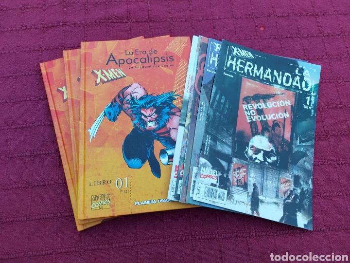 X-MEN LA HERMANDAD - X-MEN LA ERA DE APOCALIPSIS/MUTANTES/LOBEZNO/MAGNETO/CICLOPE/BESTIA/COMIC FORUM (Tebeos y Comics - Forum - X-Men)