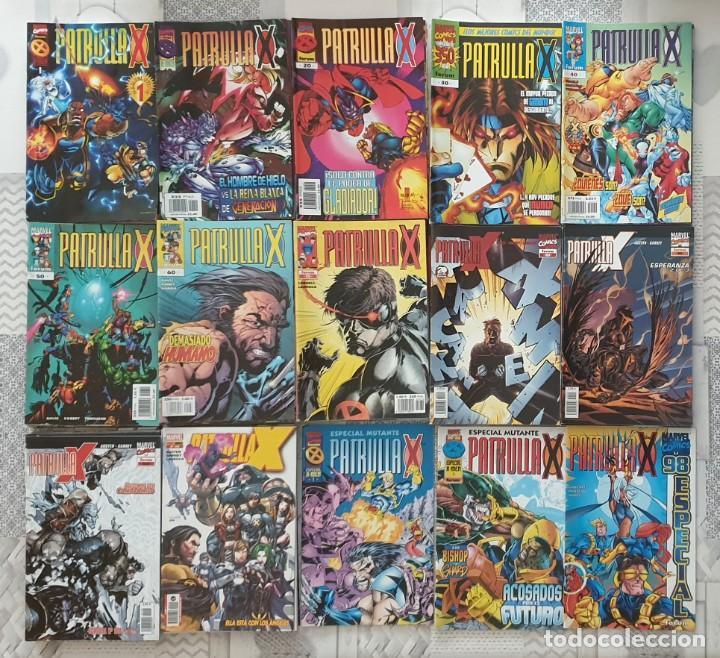 LA PATRULLA-X V2 COLECCIÓN COMPLETA 117 COMICS + 3 ESPECIALES FORUM/PANINI 1996 (Tebeos y Comics - Forum - Patrulla X)